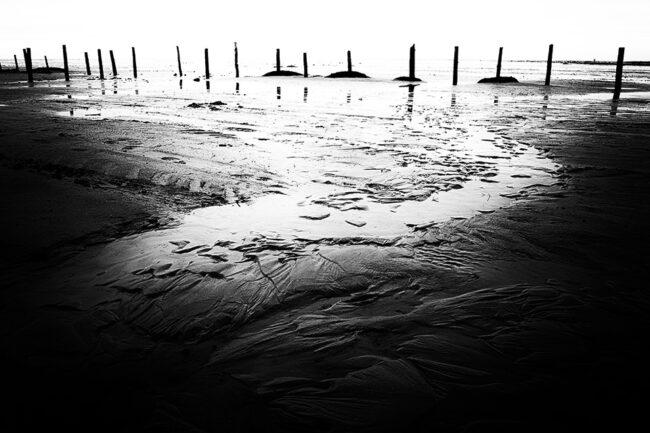 Landschaftsaufnahme am Meer