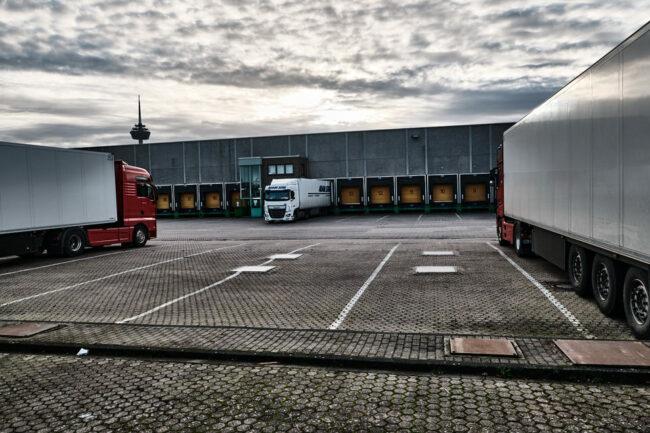 LKW Parkplatz