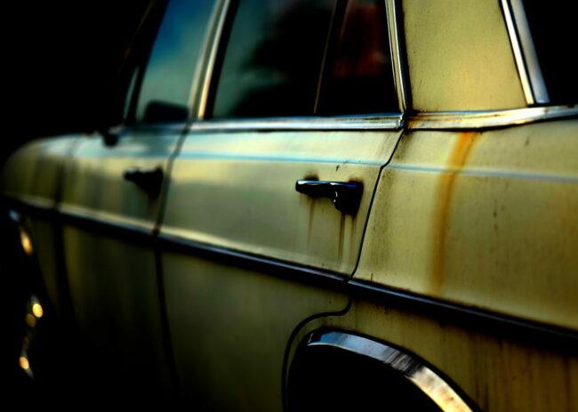 Verrostetes Auto