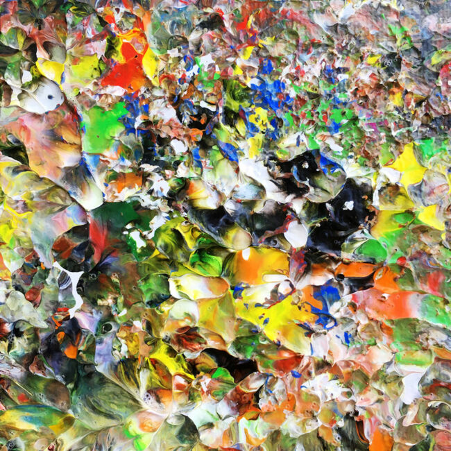 buntes abstraktes Bild