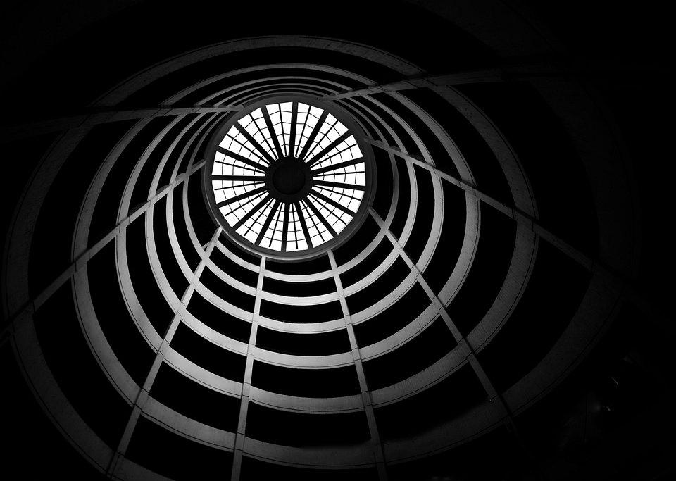 Turminneres mit Oberlicht