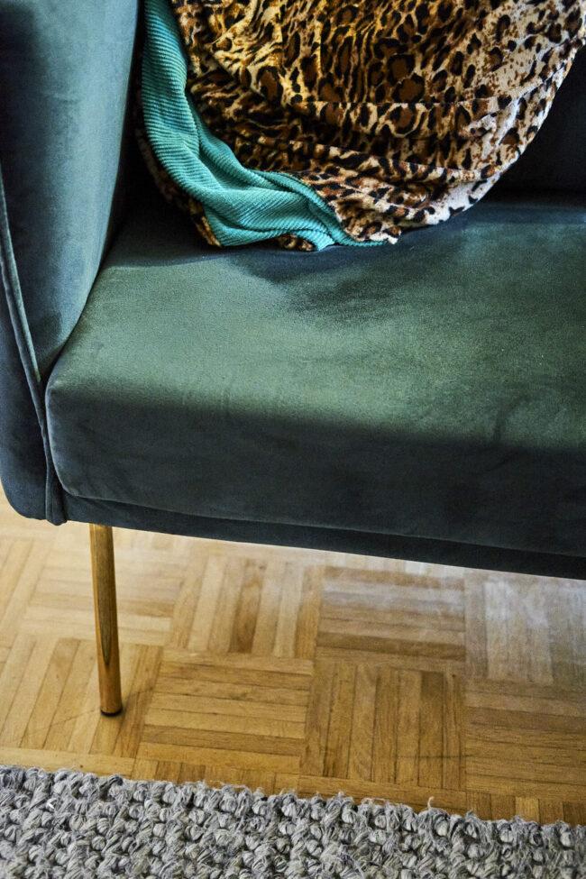 Detail eines Sessels