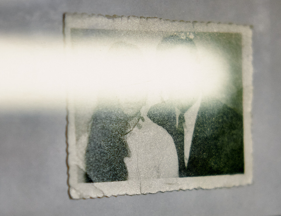 Foto mit Lichtreflex