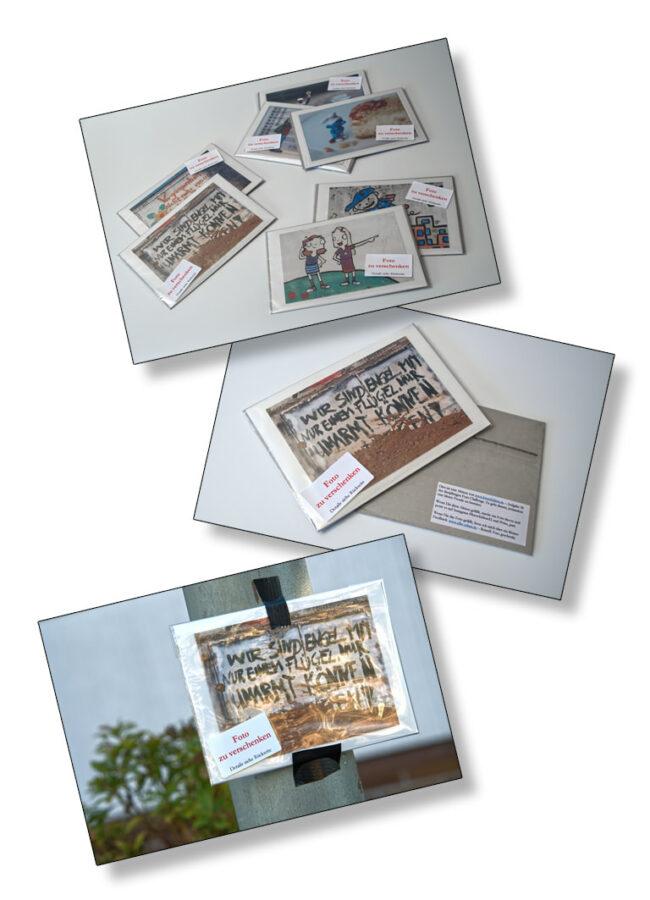 Collage aus Fotos