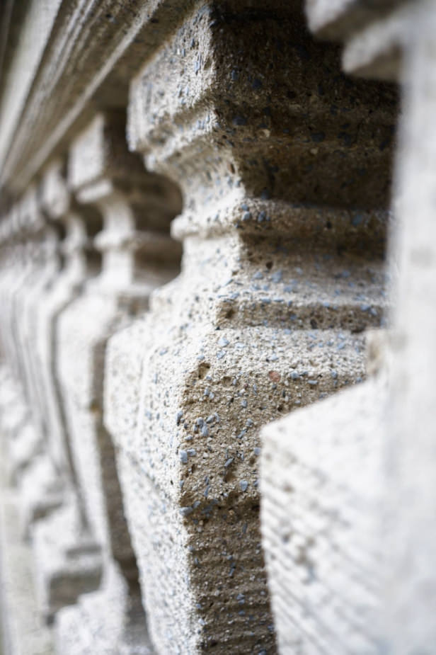 Säulen im Detail