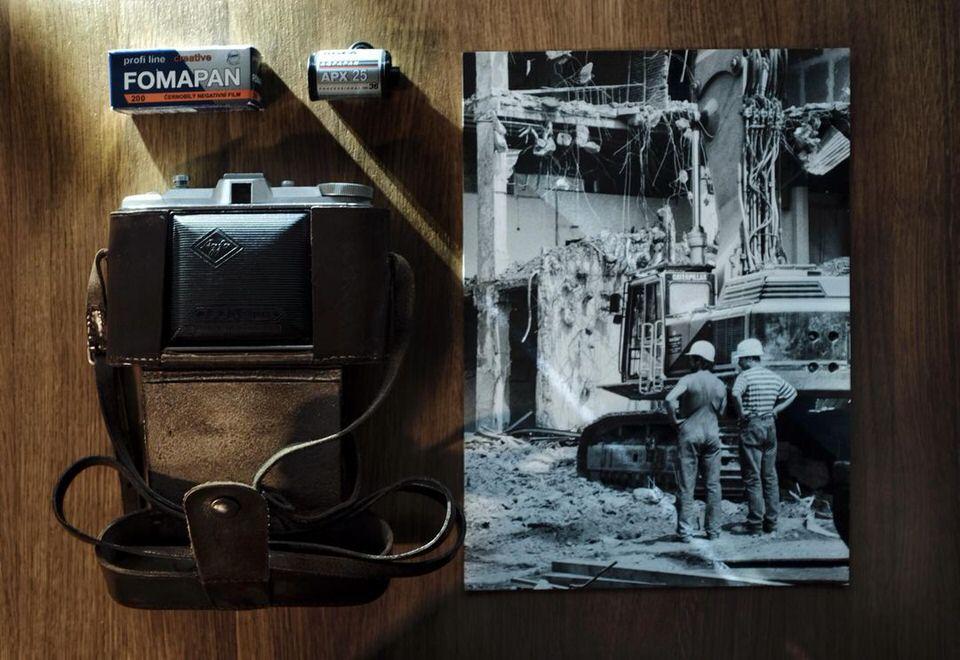 Kamera und Foto