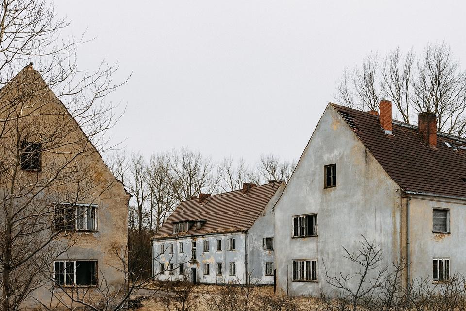 leerstehende Häuser