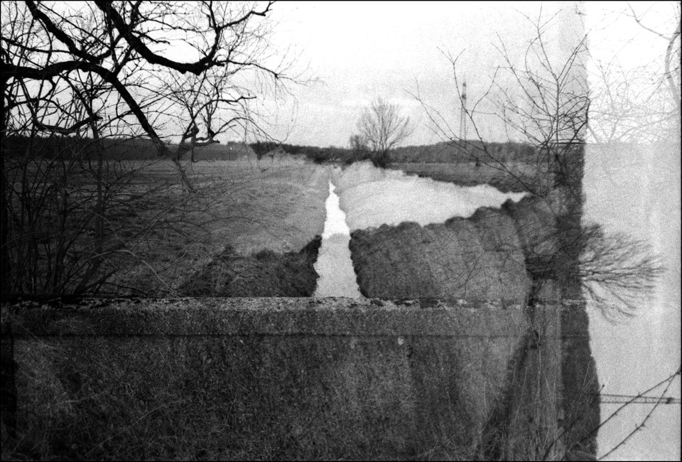 Doppelbelichtung Fluss