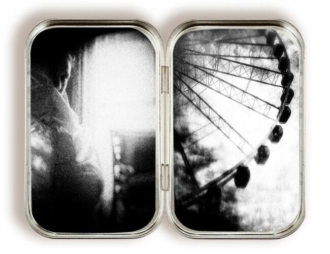 Diptychon Fenster und Riesenrad