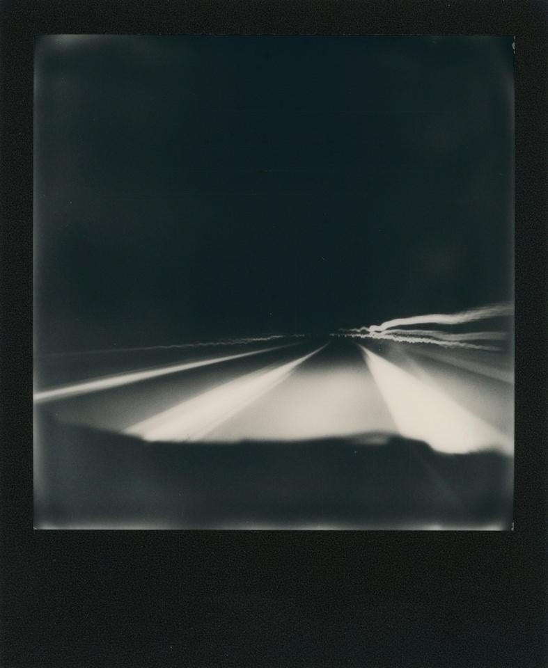 Polaroid Nachtfahrt