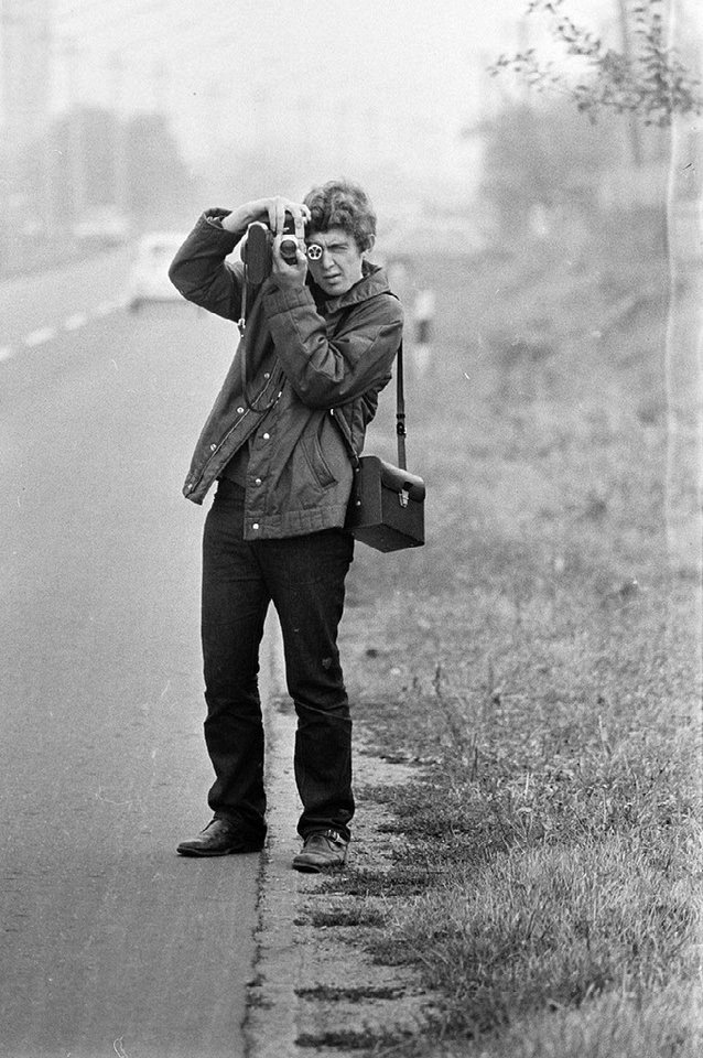 fotografierender Mann