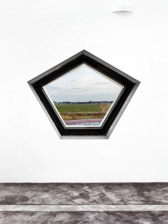 Eckigs Fenster