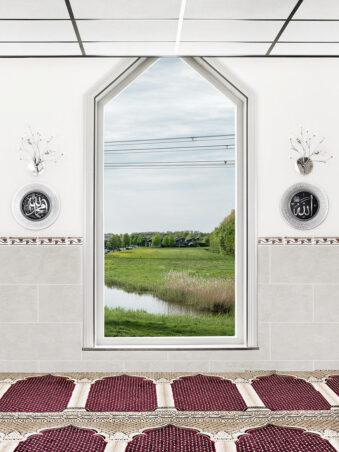 Fenster mit Blick auf eine Wiese