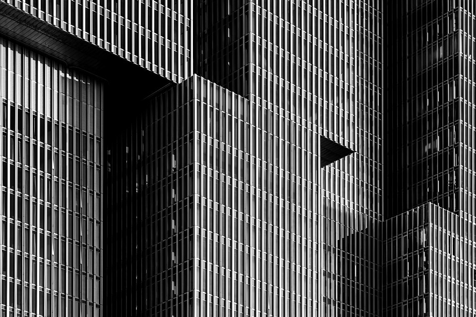 Fassade moderner Architektur