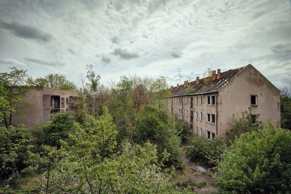 Häuser im Grünen