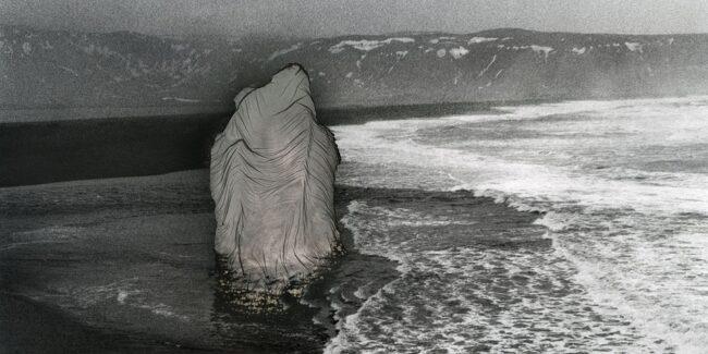 Mordancage-Landschaft am Meer