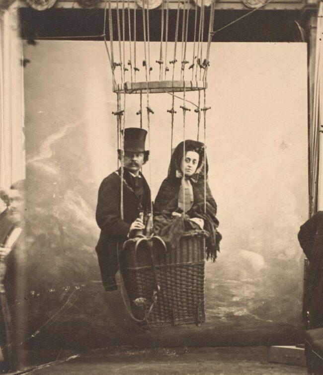 Autoportrait avec Ernestine, Balloon