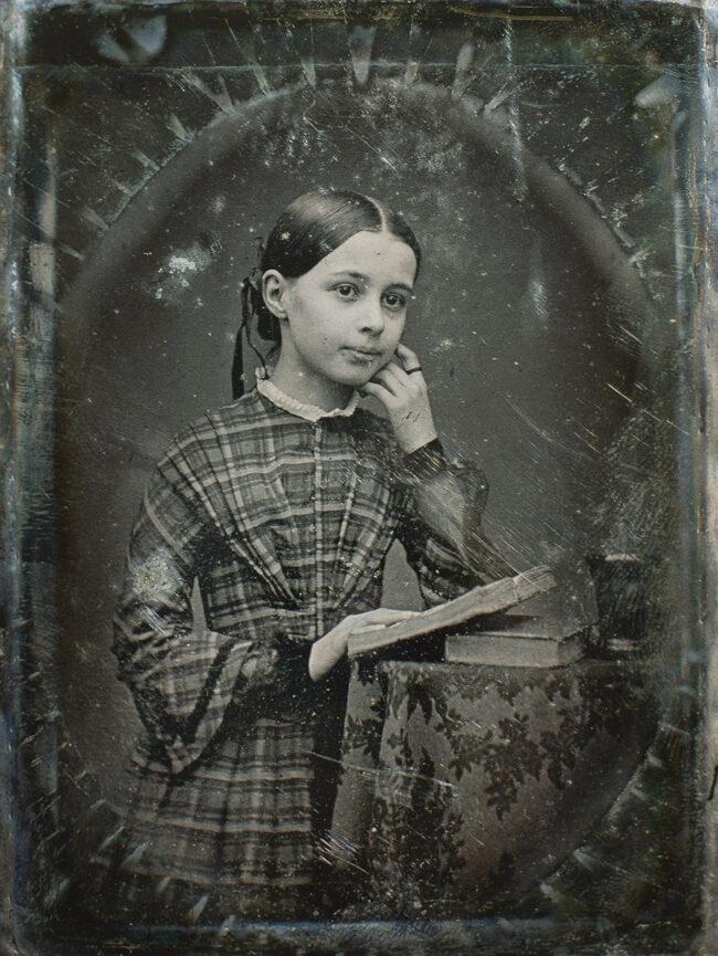 altes Kinderportrait