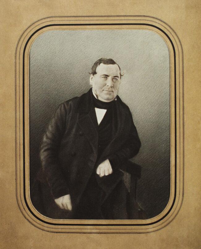 altes Portrait eines Mannes