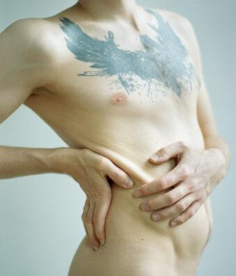 Männeroberkörper nackt