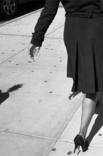 Laufende Frau angeschnitten