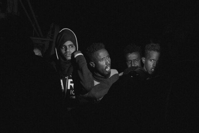 Menschen im Dunkeln