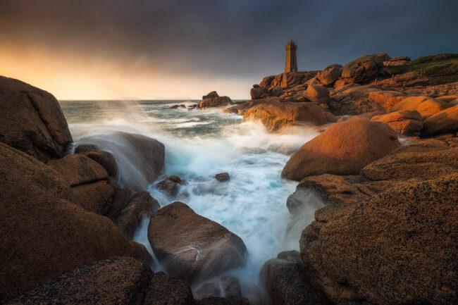 Leutturm am Meer