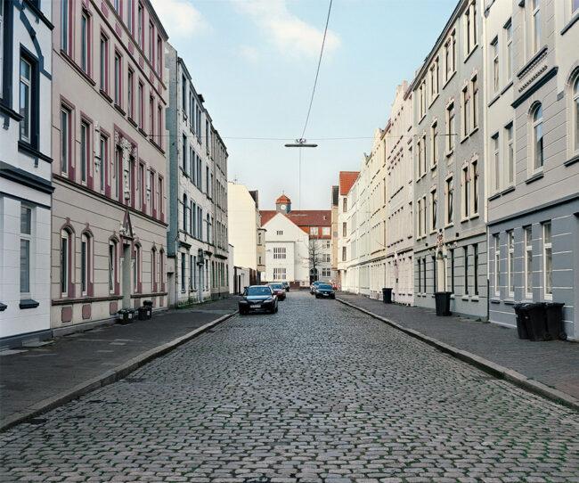 Straße in einer Altstadt