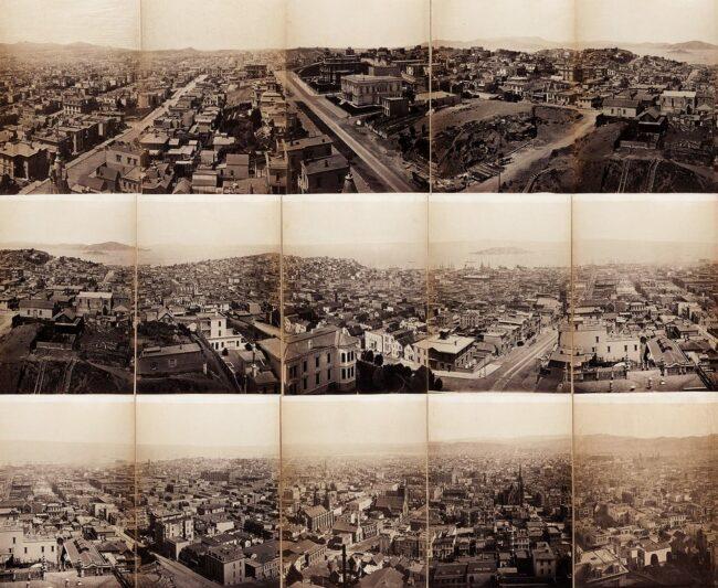 Panoramaaufnahme Stadt