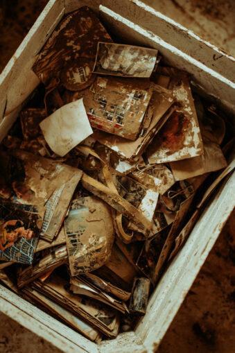 schmutzige Fotos